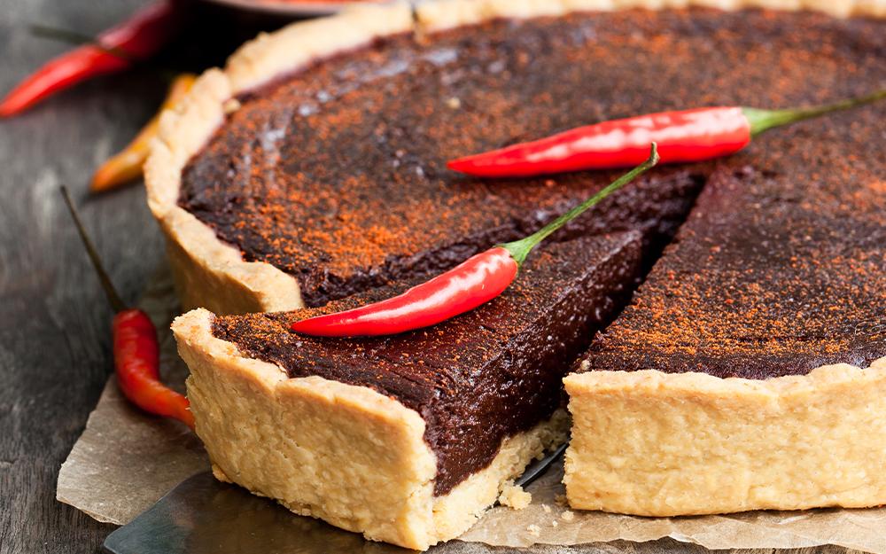 Torta de chocolate com pimenta