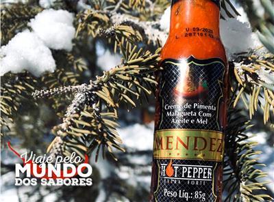 Não pode faltar pimenta no seu inverno!