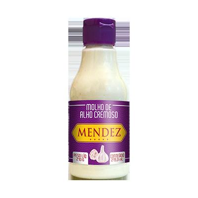 Molho de Alho Cremoso Mendez 215ml