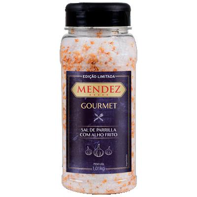 Sal de Parrilla Gourmet Alho Frito Mendez 1,01kg