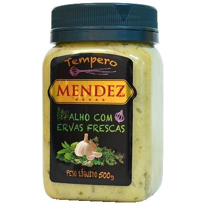 Tempero Alho com Ervas Frescas Mendez 500g