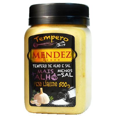 Tempero de Alho e Sal Mendez 500g